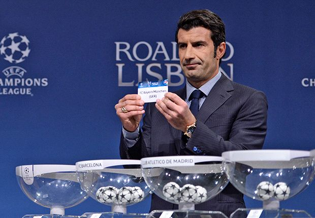 When is the Champions League quarter-final draw?
