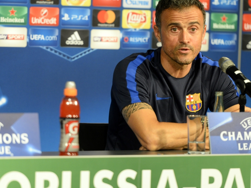 """Barcelone, Luis Enrique : """"Un effectif de haut niveau même sans Messi"""""""