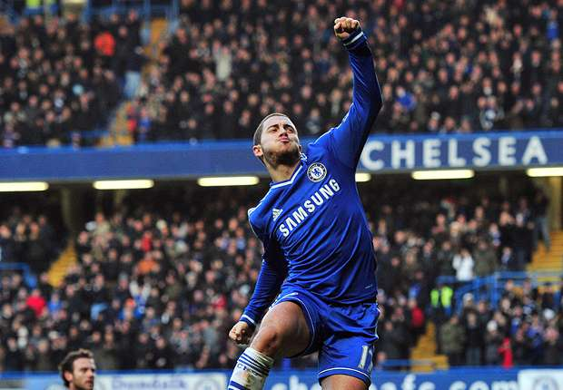 Chelsea star Hazard sets sights on Ballon d'Or