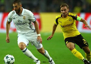 Real Madrid v Borussia Dortmund Betting