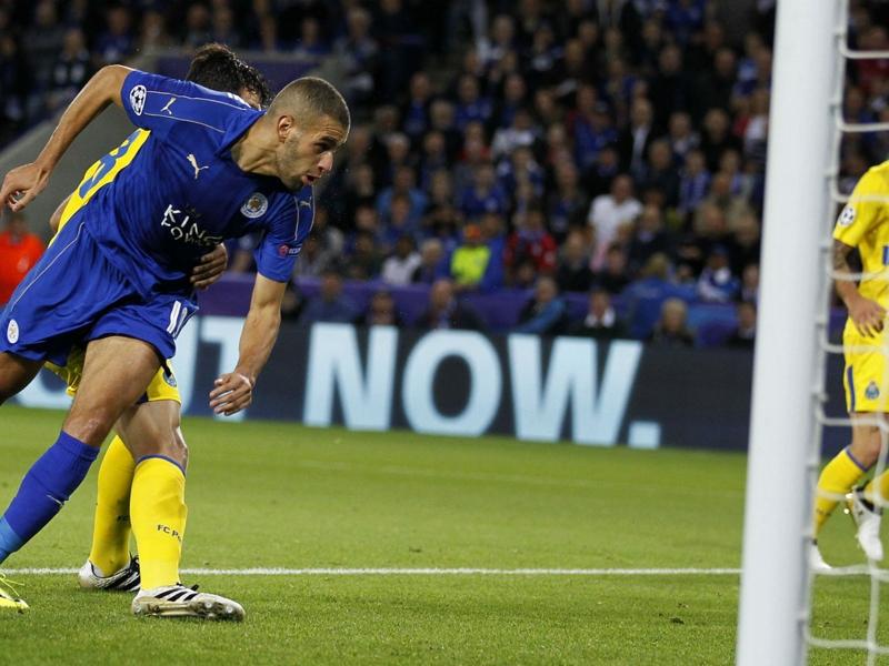 VIDÉO - Le but de Slimani contre Porto