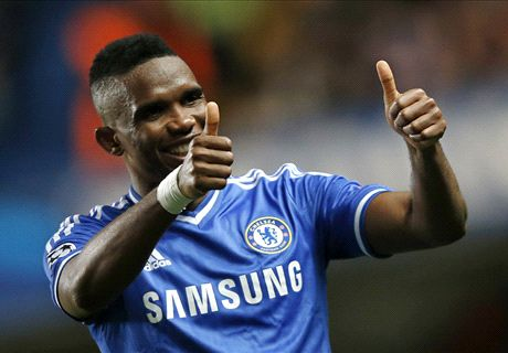 Eto'o closes in on Everton move