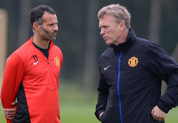 Is Giggs being lined up to replace Moyes at Manchester United?