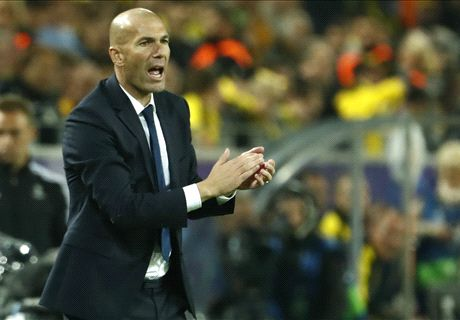Ditahan Dortmund, Zidane Kecewa