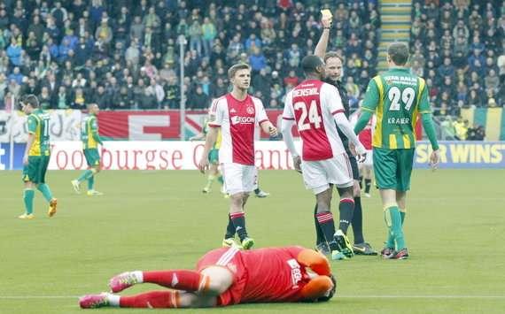Cillessen Kramer Wiedemeijer ADO Den Haag Ajax 12012013 Eredivisie
