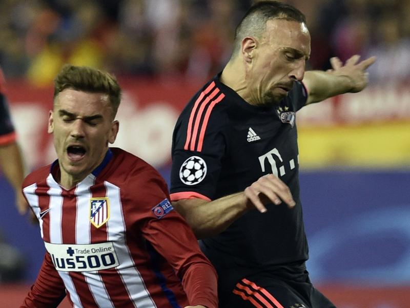 """Bayern Munich, Ribéry : """"Griezmann n'est pas encore un joueur de classe mondiale"""""""