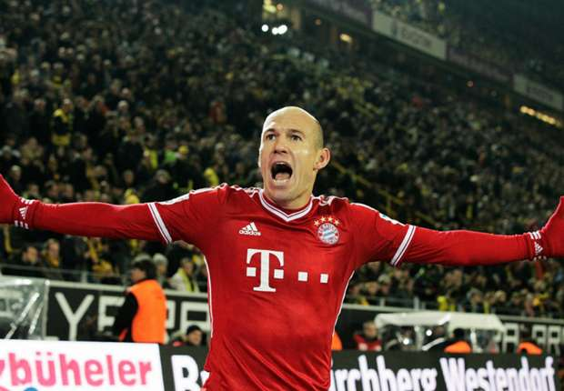 United tie a 'great draw', says Bayern Munich ace Robben