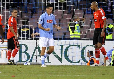 Napoli-Benfica 2008: azzurri 8 anni dopo