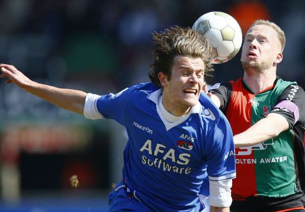 NEC - AZ, Melvin Platje vs. Etienne Reijnen