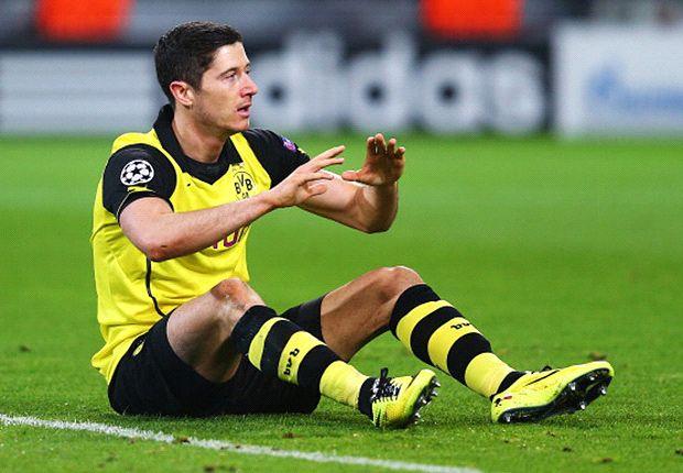 Borussia Dortmund given glimpse of grim life after Lewandowski