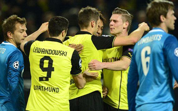 Sebastian Kehl Borussia Dortmund Alex Witell Zenit Saint Petersburg Champions League 03192014