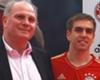 Uli Hoeneß bewundert Philipp Lahm