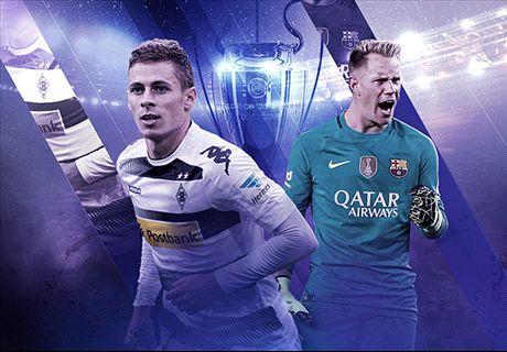 LIVE: Gladbach vs. Barcelona