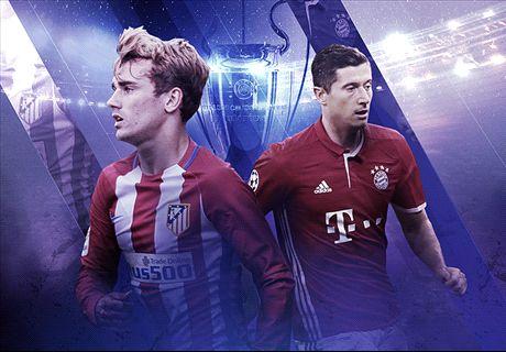 LIVE: Atletico Madrid vs. Bayern Munich