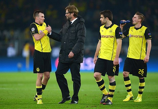 'Awesome' that Dortmund are back among the best, says Klopp