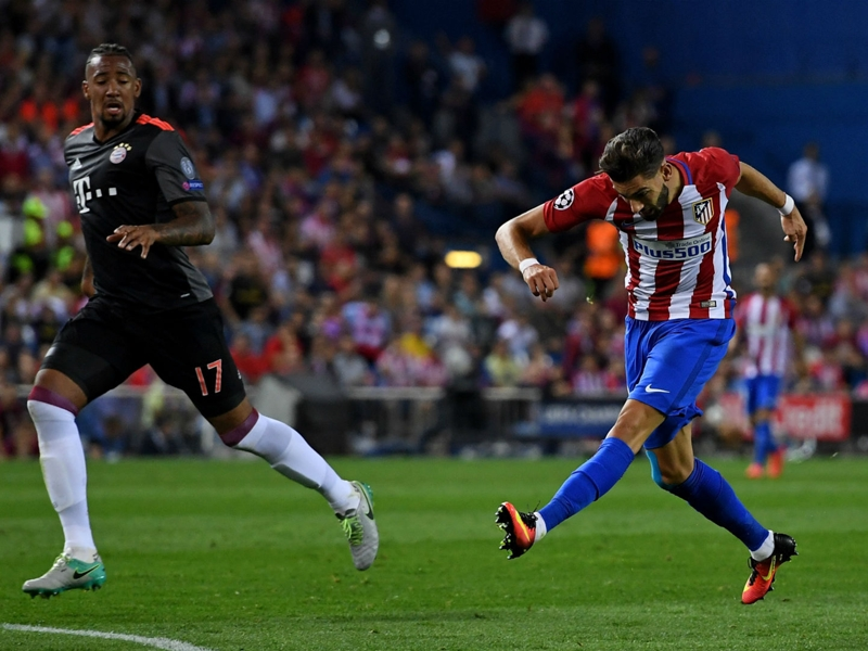 VIDÉO : le but de Carrasco contre le Bayern Munich