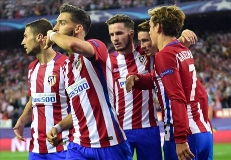 Atletico end Ancelotti's perfect start