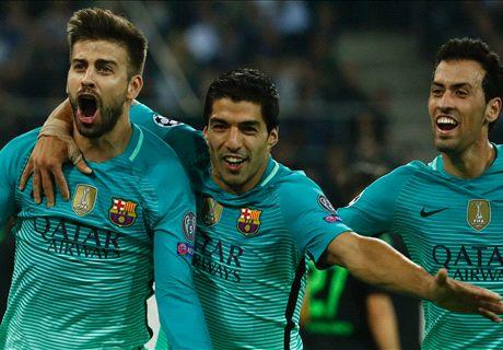 Barcelona buigt achterstand om