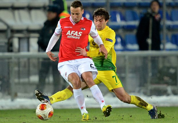 Anzhi Makhachkala 0-0 AZ (Agg 0-1): Advocaat's men seal quarter-final berth