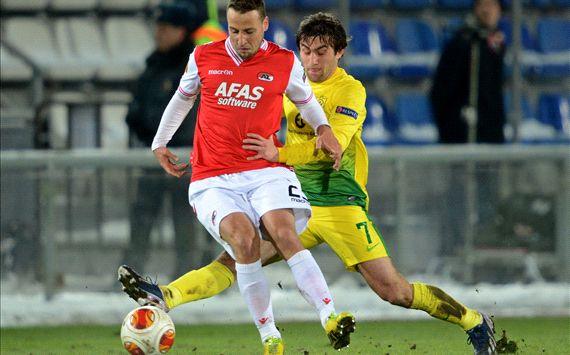 Kamil Agalarov Roy Beerens Anzhi AZ Europa League 03202014
