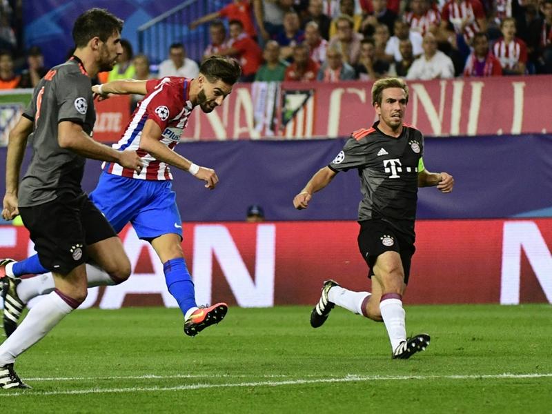 """Atlético, Carrasco : """"J'ai de la chance sur le but"""""""