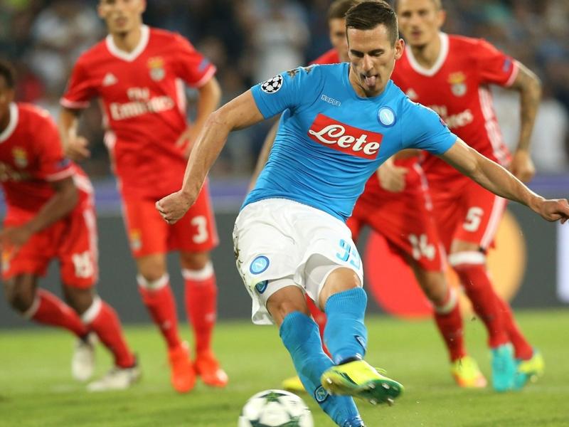 Napoli, è sempre super Milik: 13 tiri nello specchio della porta, 7 goal