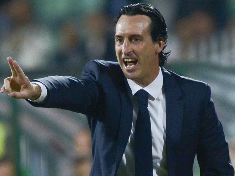 """PSG, Emery : """"On a été patient, je suis content"""""""