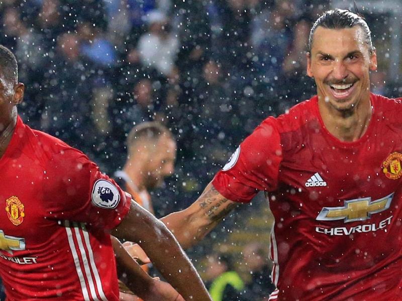 """Manchester United, Rashford : """"C'est très facile de parler avec Zlatan"""""""