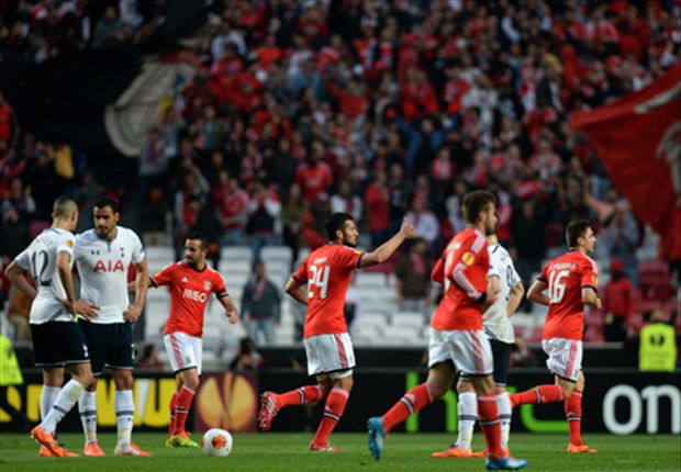 Benfica 2-2 Tottenham (Agg 5-3): Chadli-inspired comeback not enough for Spurs