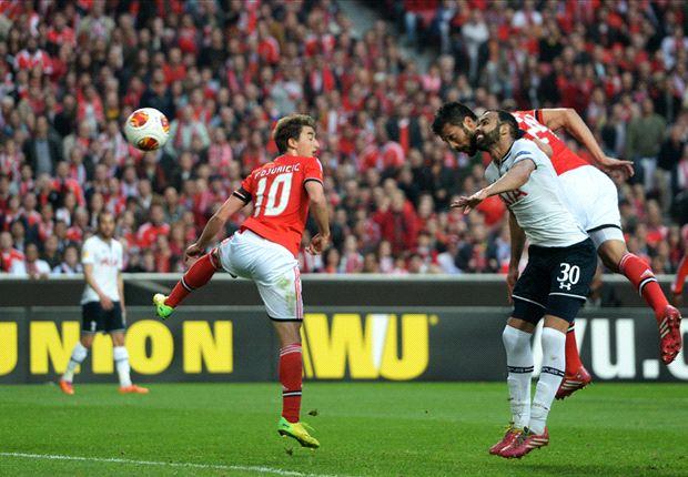 Tottenham fightback didn't scare Benfica - Garay