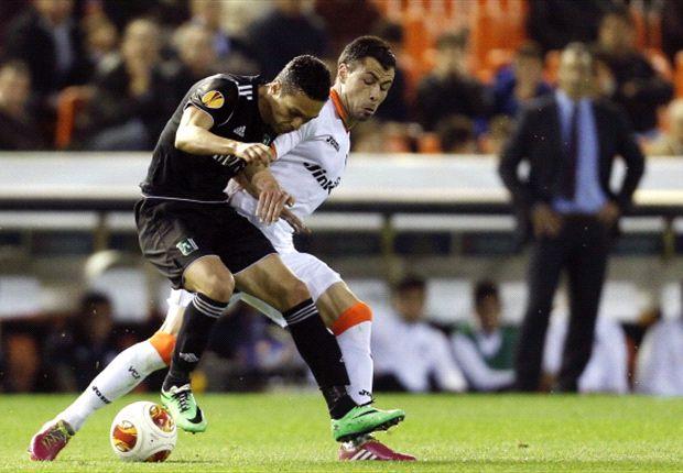 Der FC Valencia spaziert gegen Ludogorets ins Viertelfinale