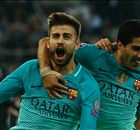 Pique completes late Barca comeback