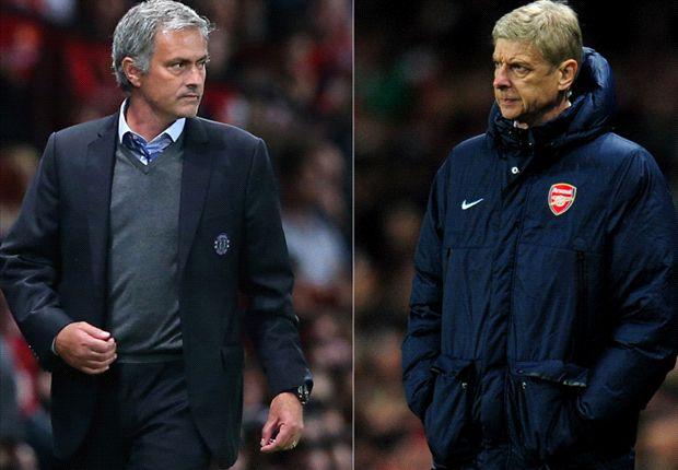 Mourinho nunca perdió ante Wenger en las diez ocaciones que se enfrentaron.