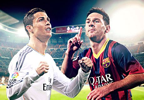 Raio-X: CR7 vs Messi