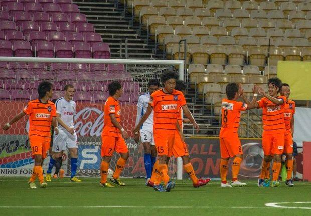 Albirex inflict first defeat on Balestier