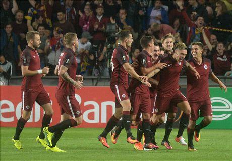 Sparta Prague stun Inter