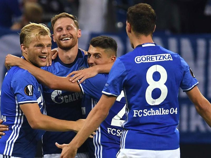 Schalke - Salzburg (3-1), Schalke poursuit son sans-faute en C3