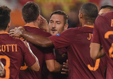 Totti illumina, la Roma va: 4-0 all'Astra