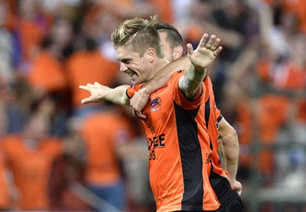 Brisbane Roar 1-0 Melbourne Victory: Late Brattan stunner seals Premier's Plate