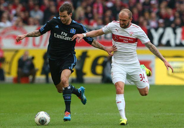In Stuttgart sahen die Zuschauer eine umkämpfte Partie zwischen VfB und dem Hamburger SV