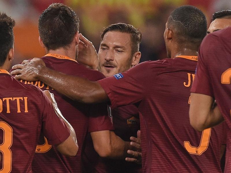 Roma-Astra Giurgiu (4-0), Totti inspire la Roma