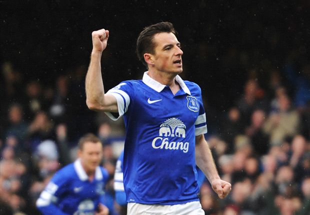 Baines urges Everton focus after top-four hopes hit