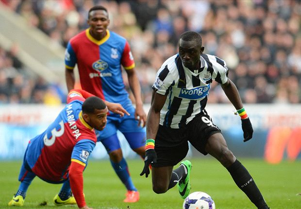 Newcastle United 1-0 Crystal Palace: Cisse strikes in stoppage time to break Eagles' hearts