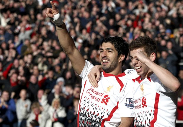 Cardiff City 3-6 Liverpool: Suarez hat-trick helps Reds clinch nine-goal thriller