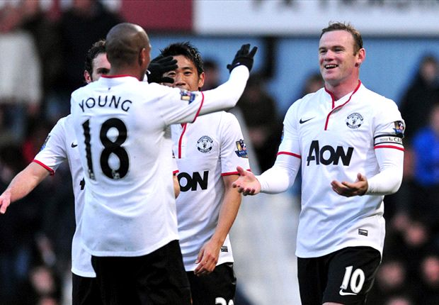 West Ham 0-2 Manchester United: Rooney sets up victory with spectacular long range lob
