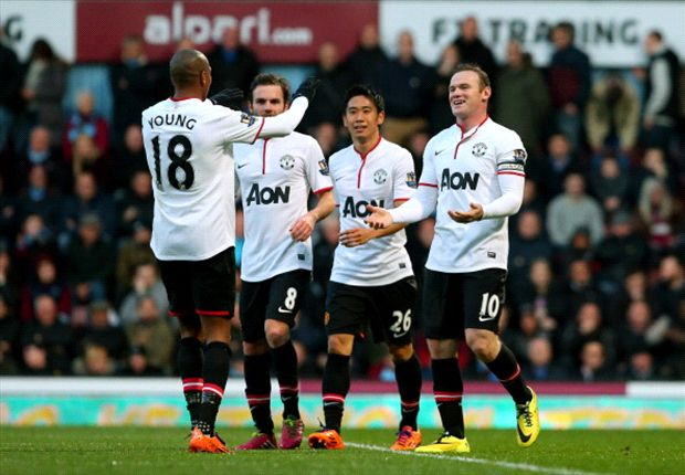 Remarkable Rooney revels in Van Persie's absence