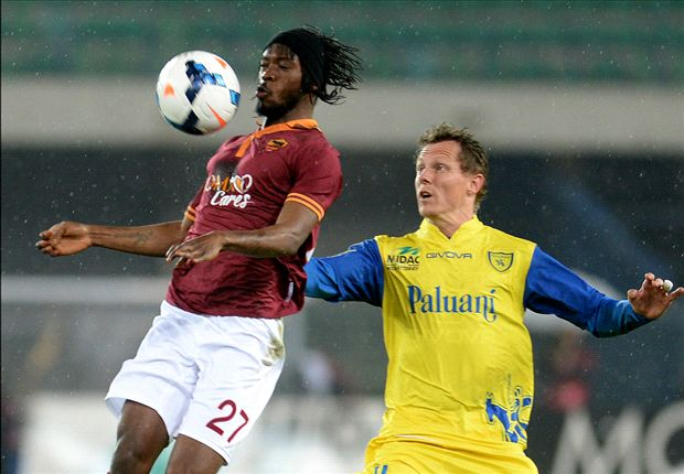 Chievo 0-2 Roma: Destro and Gervinho tighten grip on second spot