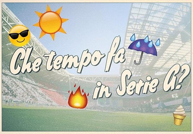 Che tempo fa in Serie A? Le previsioni meteo per la 9^ giornata di campionato