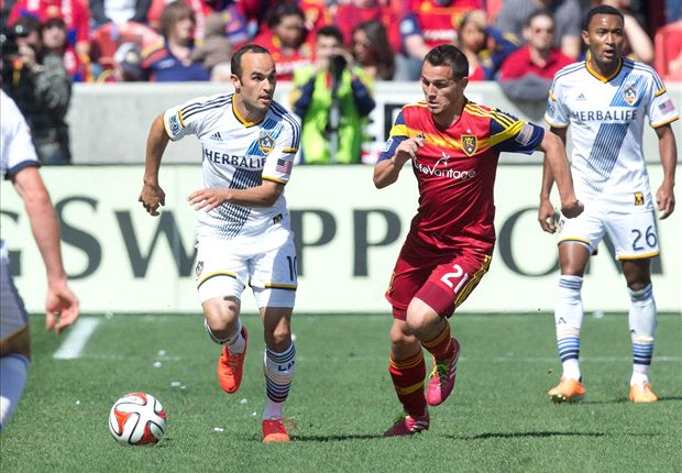 Real Salt Lake 1-1 LA Galaxy: Keane cancels out Saborio opener