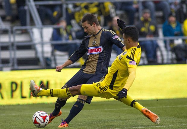 Columbus Crew 2-1 Philadelphia Union: Anor double leads Crew to victory